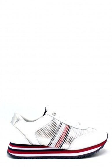 Tommy hilfiger Sneakers F.gomma 36/41 corporate flag sneaker Donna Bianco Fashion