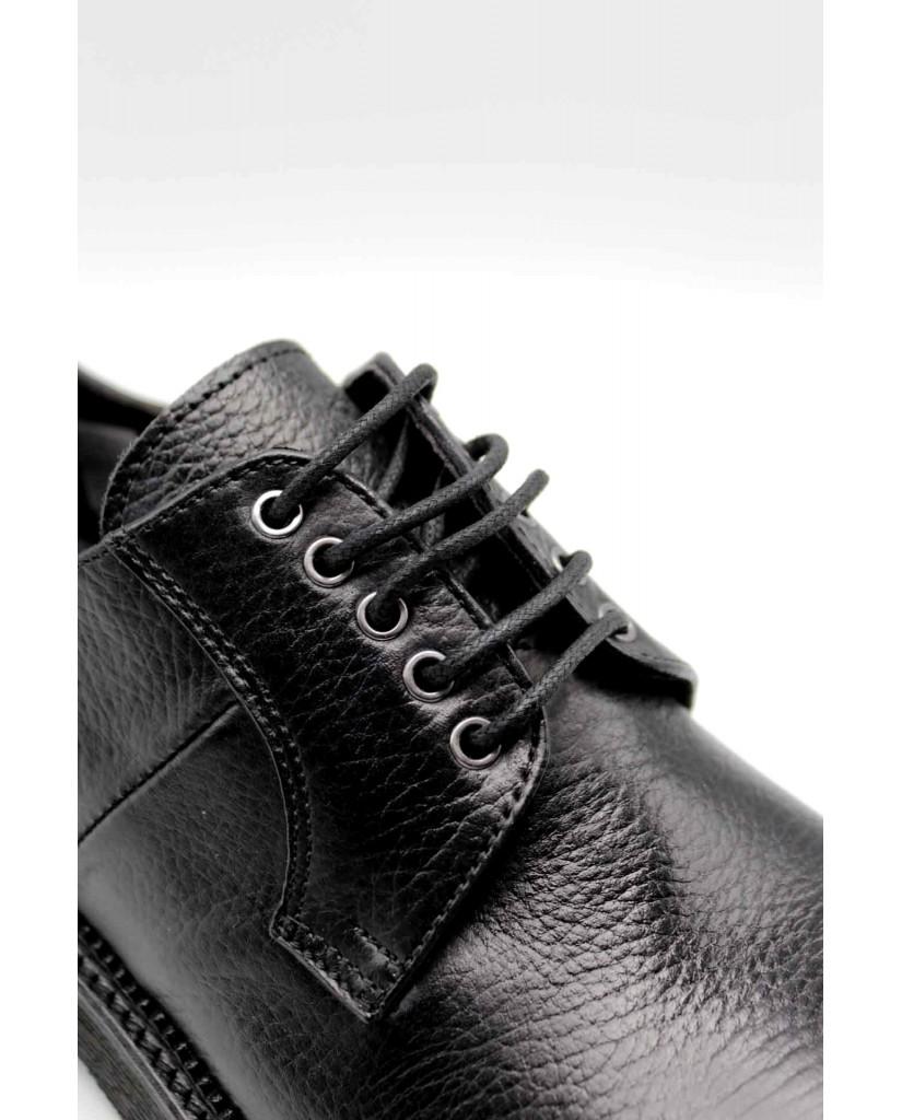 Exton Stringate F.gomma Uomo Nero Fashion