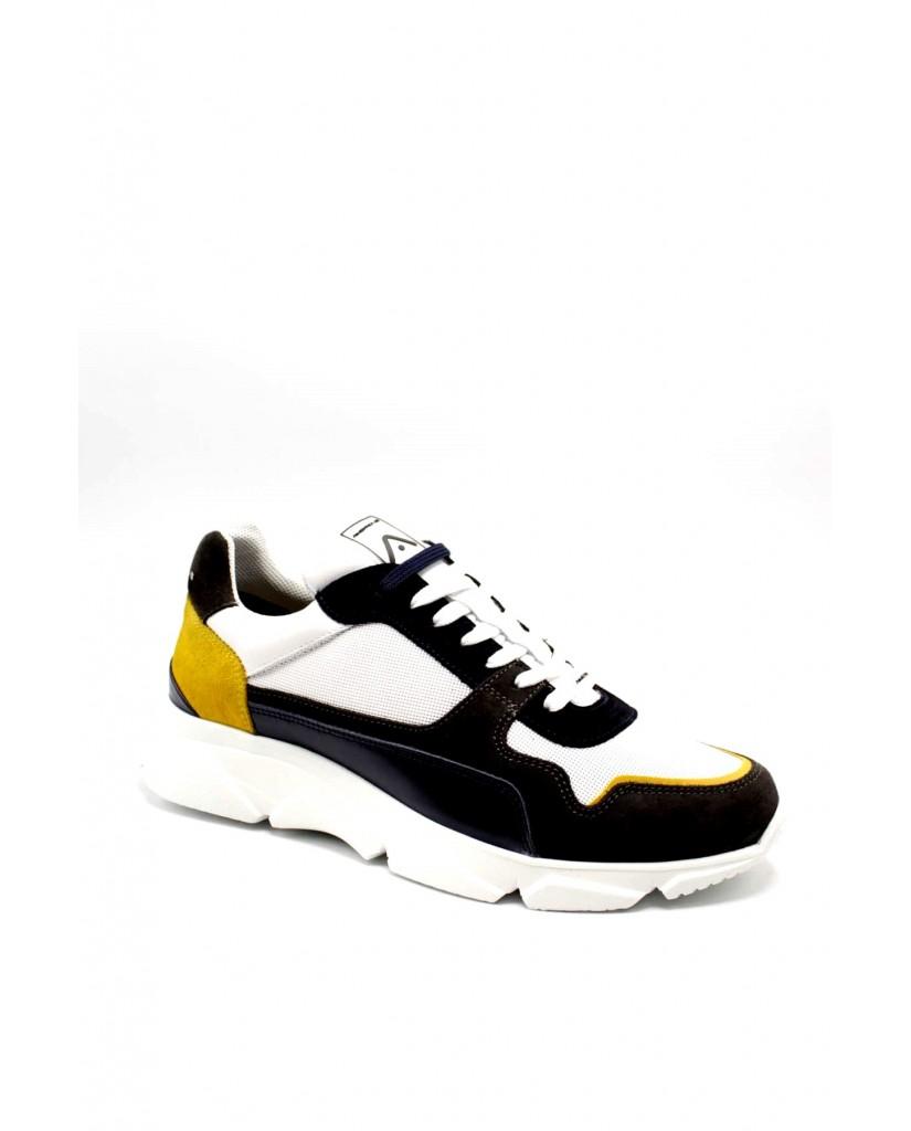Ambitious Sneakers F.gomma 40/45 10487 Uomo Grigio-blu Fashion