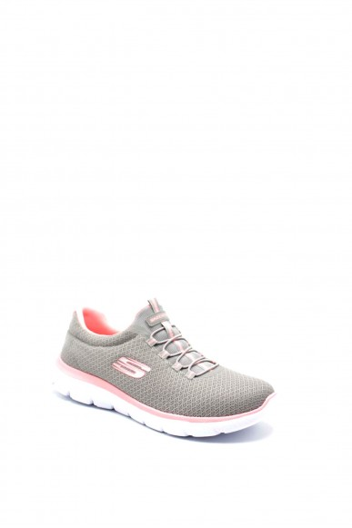 Skechers Sneakers F.gomma 36/41 Donna Grigio Fashion