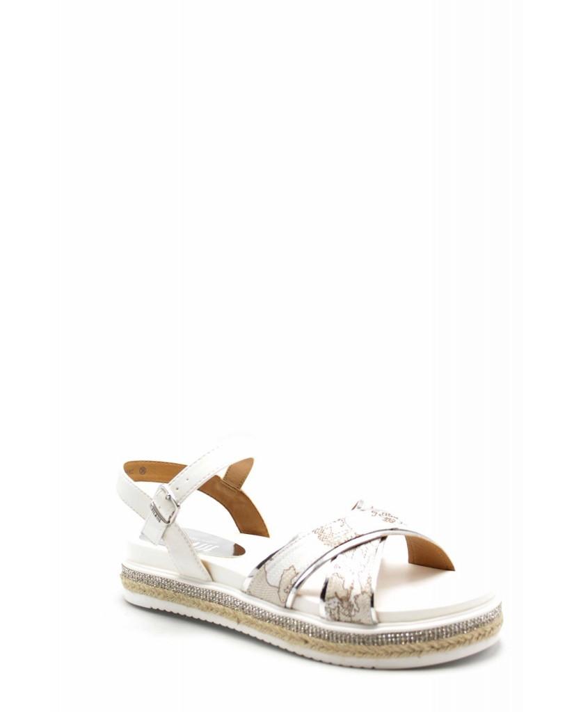 Sandali F 1 gomma N0221 Bianco Fashion classe Donna vm8wNOn0
