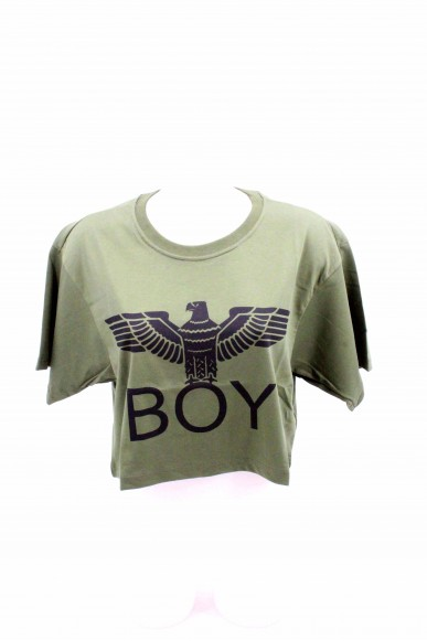 Boy london Maglie Donna Verde militare Casual