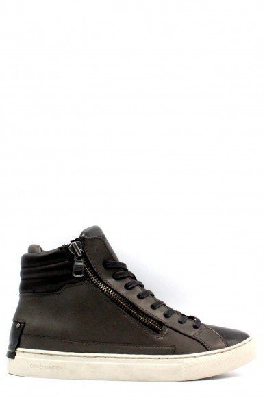 Crime Sneakers F.gomma 40-45 made in italy Uomo Grigio Fashion