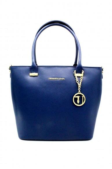 Trussardi Borse Shopping bag Donna Blu Fashion