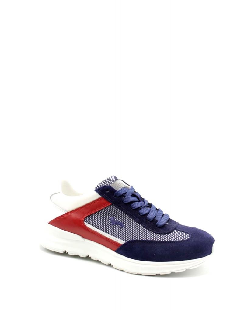 Harmont-blaine Sneakers F.gomma 40/45 Uomo Blu-grigio Fashion