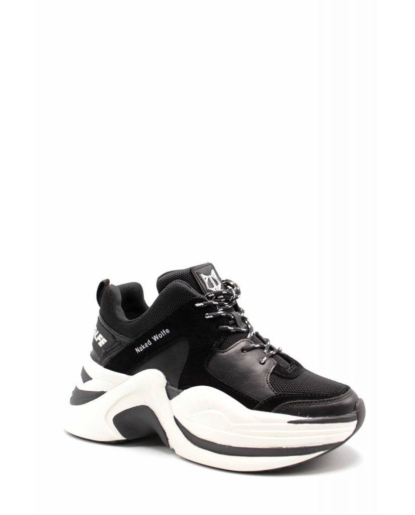 Naked wolfe Sneakers F.gomma Nwstrack Donna Nero Fashion