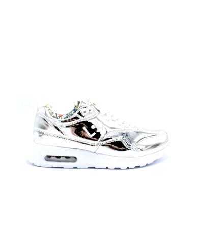 Liu.jo Sneakers F.gomma 35/40 Donna Argento Fashion