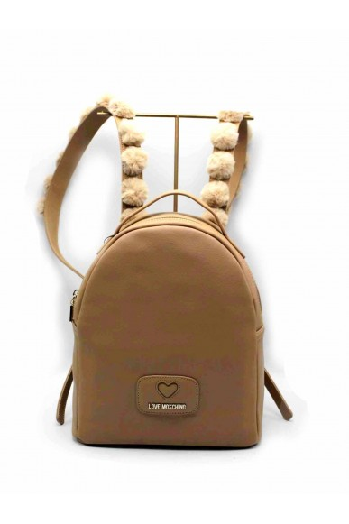 Moschino Backpacks   Borsa pu+poliestere nero Donna Camel