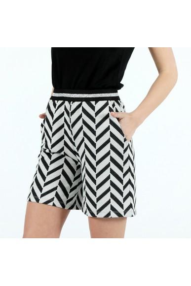Le voliere Shorts Xs-m Donna Silver