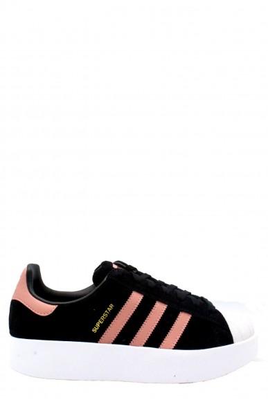 Adidas Sneakers F.gomma 35/41 platform Donna Nero Sportivo