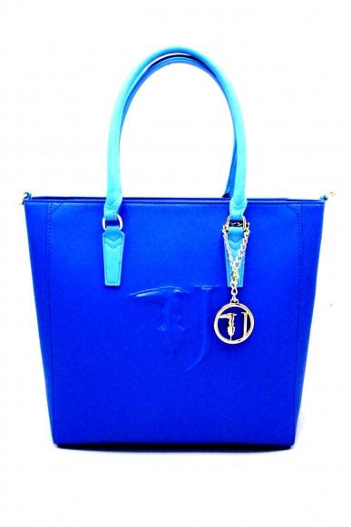 Trussardi Borse Shopping bag grande Donna Blu Fashion