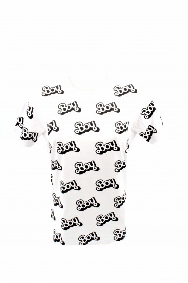Boy london T-shirt Donna Bianco Casual