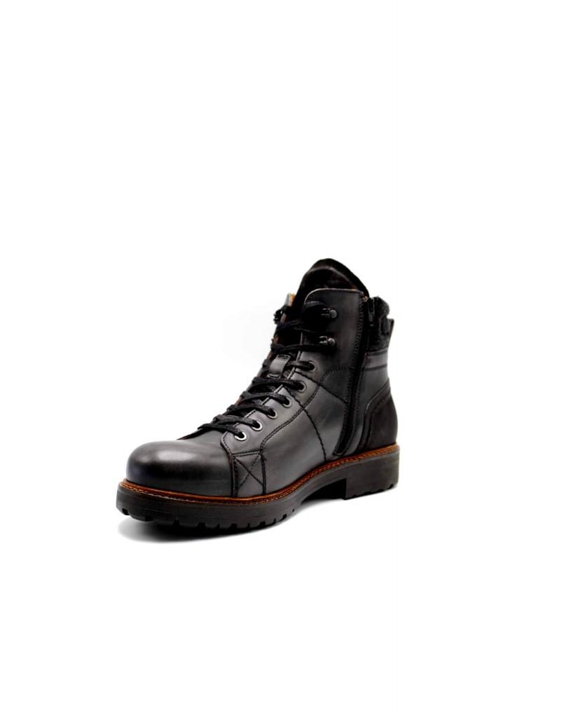 Ambitious Stivaletti F.gomma 10900 Uomo Nero Fashion