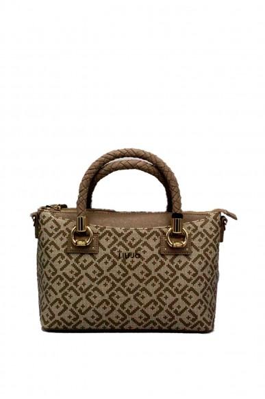 Liu.jo Borse - A satchel manhattan printed Donna Arenaria Fashion