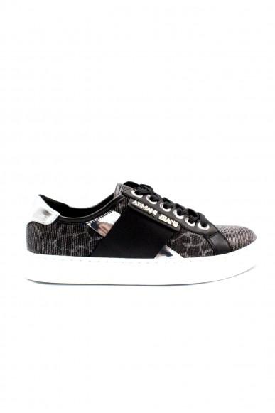 Armani jeans Sneakers F.gomma 36/41 Donna Nero Fashion