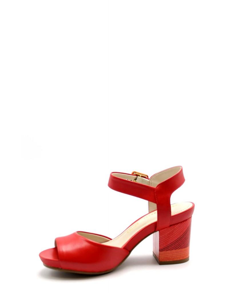 Capelli rossi Sandali F.gomma 8766-490-510 Donna Rosso Fashion