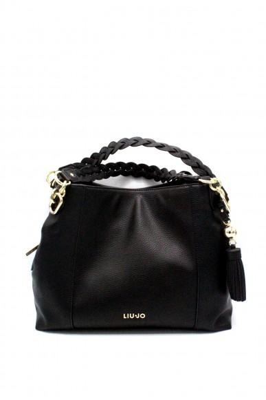 Liu.jo Borse - M satchel arizona Donna Nero Fashion