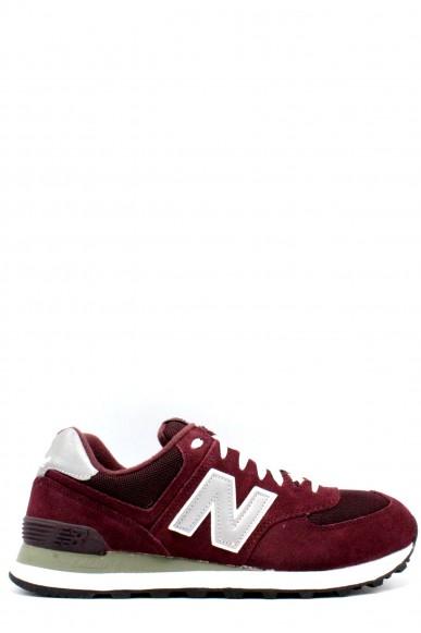 New balance Sneakers F.gomma 39-46 574 Uomo Bordo Sportivo