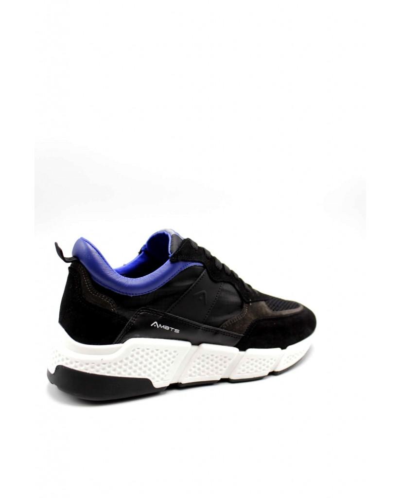 Ambitious Sneakers F.gomma 40/45 10339a Uomo Nero Fashion
