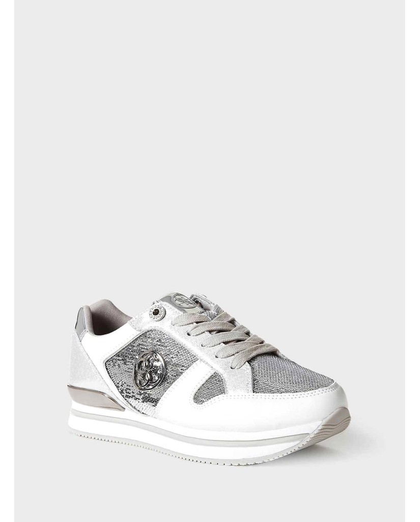 Guess Sneakers F.gomma Dameon7 Donna Argento Fashion