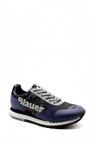 Blauer Sneakers   Denver01 Uomo Blu Fashion