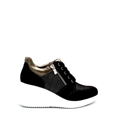 Lumberjack Sneakers F.gomma 35/41 Donna Nero Fashion