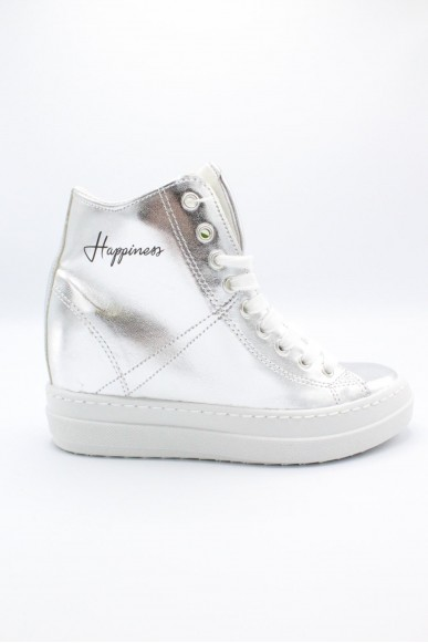 Happiness Sneakers F.gomma 36/41 Donna Argento Fashion