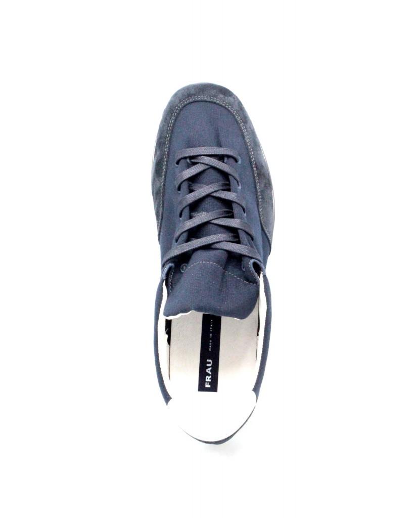 Frau Sneakers F.gomma 39-46 23e1 made in italy Uomo Blu Casual