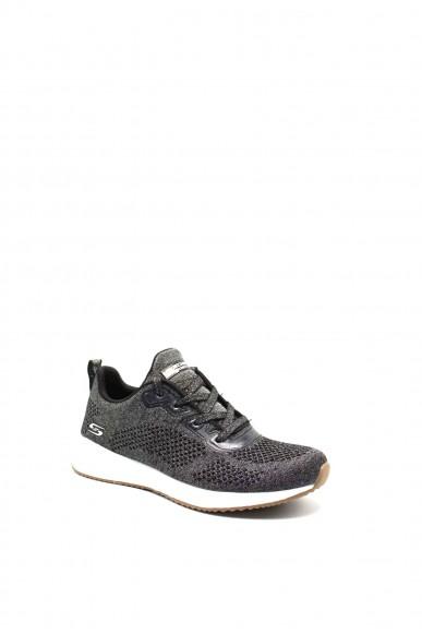 Skechers Sneakers F.gomma 36/41 Donna Nero Fashion