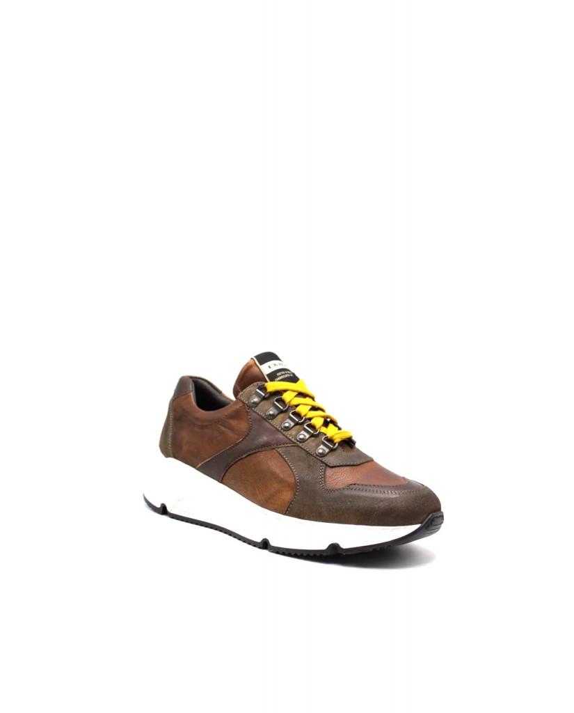 Exton Sneakers F.gomma 500 Uomo Marrone Fashion