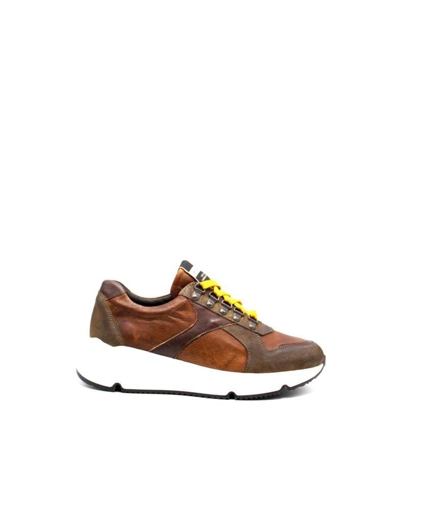 Exton Sneakers F.gomma 500 Uomo Marrone Fashion