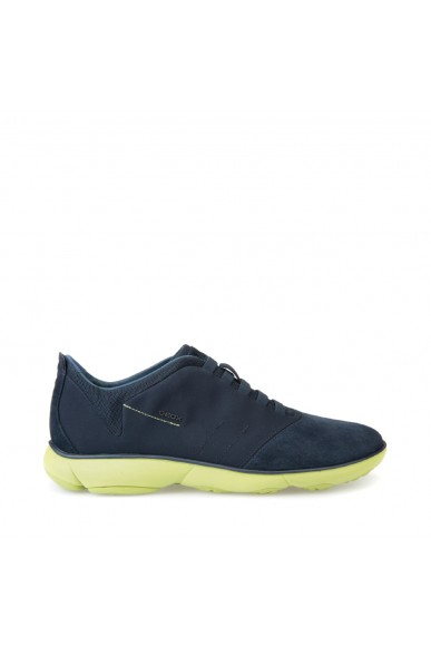 Geox Sneakers F.gomma Nebula Uomo Navy/lime green Casual