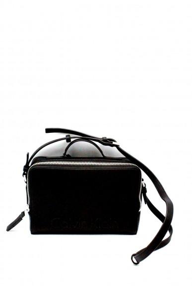 Calvin klein Borse - Edge camera k60k603905 Donna Nero Fashion