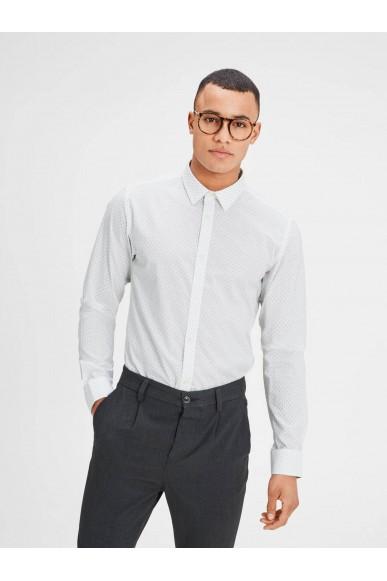 Jackejones Camicie Uomo Bianco Casual