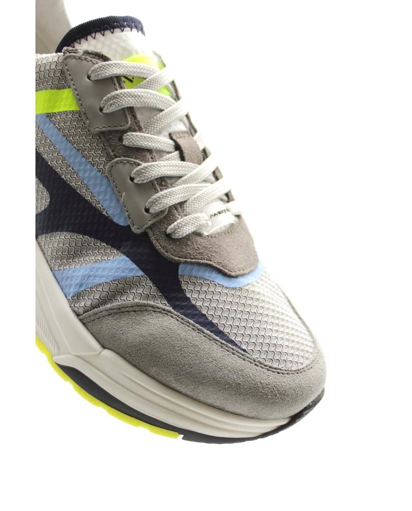 Ambitious Sneakers F.gomma 40-45 Uomo Grigio Sportivo