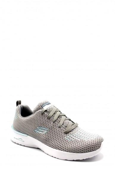Skechers Sneakers F.gomma 36-41 12946 Donna Grigio Casual
