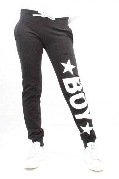Boy london Pantaloni Donna Nero Casual