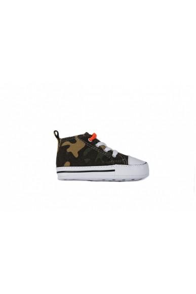 Converse Sneakers F.gomma 17/19 Bambino Verde Sportivo