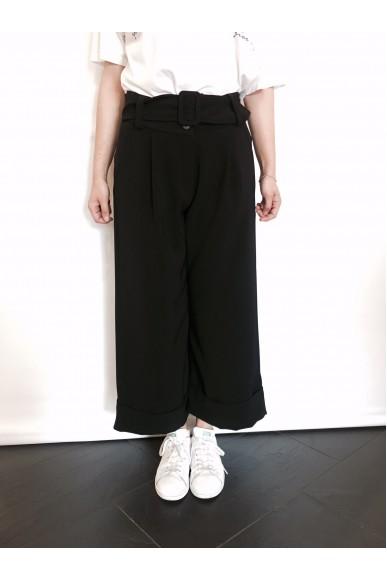 Berna Pantaloni S-m Donna Nero Fashion
