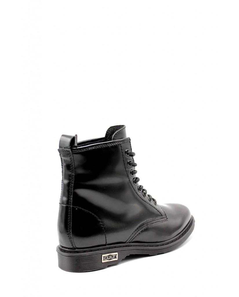 Cult Stivaletti   Sabbath 420 mid w brushed leather b Donna Nero Fashion
