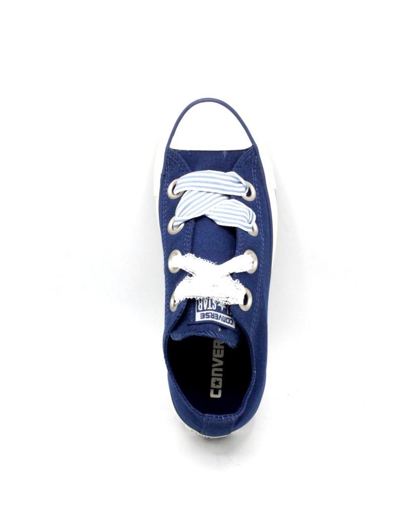 Converse Sneakers F.gomma 36/41 chuck taylor 2018 Donna Blu-bianco Sportivo