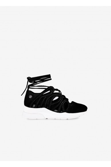 Liu.jo Sneakers F.gomma Donna Nero Fashion