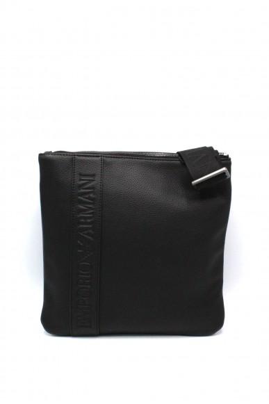 Emporio armani Tracolle - Y4m176 yg89j tracolla regolabile con logo Uomo Black Fashion
