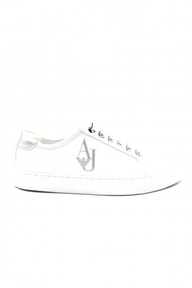 Armani jeans Sneakers F.gomma 36/41 Donna Bianco Fashion