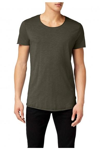 Jackejones T-shirt Jjebasic tee ss Uomo Verde Casual