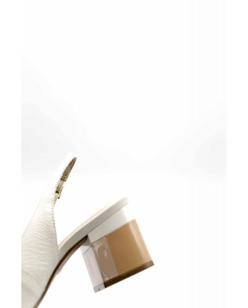 Capelli rossi Sandali F.gomma 6701--207-575 Donna Bianco Fashion