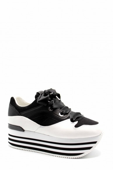 Ape pazza Sneakers F.gomma Riva Donna Bianco-nero Fashion