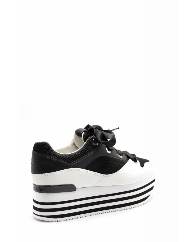 Apepazza Sneakers F.gomma Riva Donna Bianco-nero Fashion