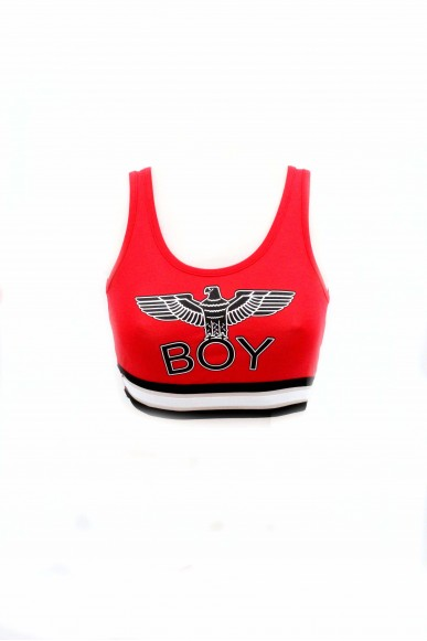 Boy london Top Donna Rosso Casual