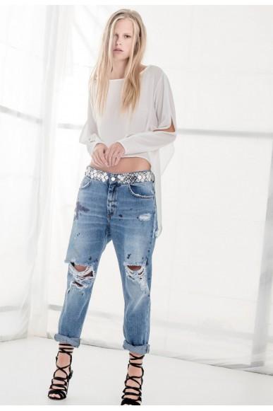 Relish Pantaloni 26-30 Donna Jeans